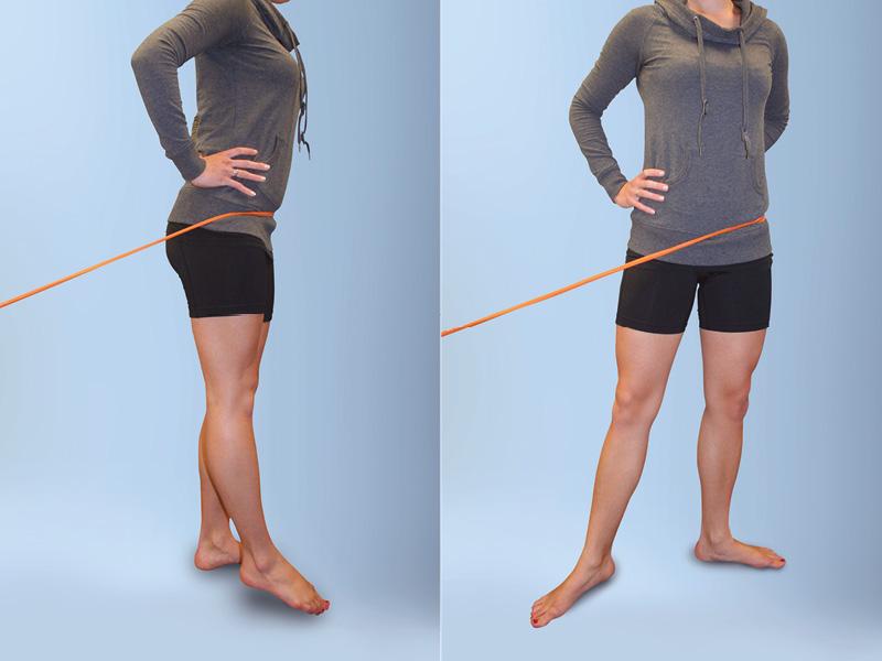 Hip-Core Internal Rotation