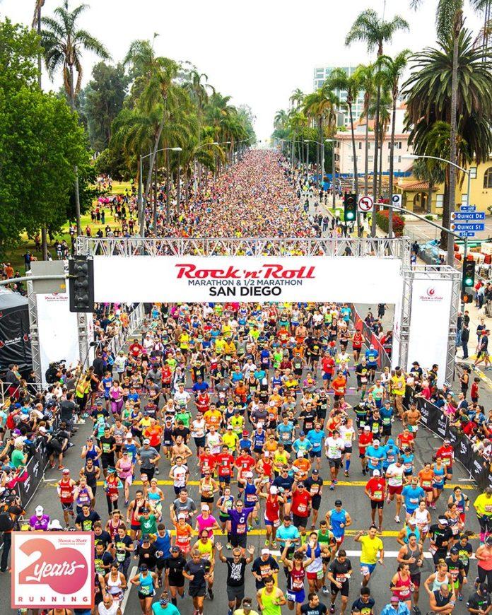 Rock n Roll Marathon San Diego