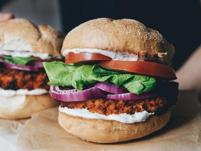 Buffalo Cauliflower Sandwiches