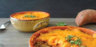 Lentil & Sweet Potato Shepherd's Pie