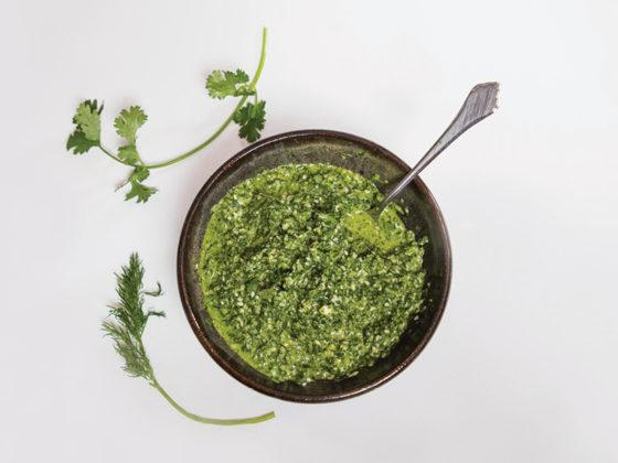 Summer Herbs Chimichurri