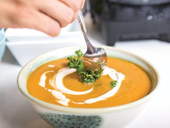 Savoury Gazpacho Style Soupa
