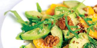 Mango Walnut Salad