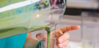 Tahini Green Smoothie