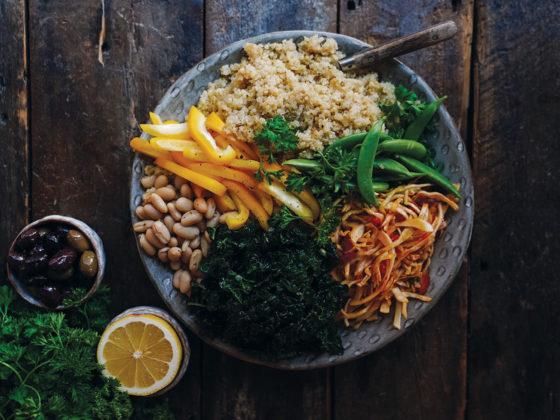 Quinoa and Cabbage Salad