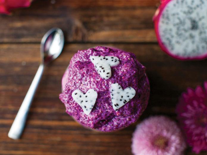Pitaya Strawberry Parfait