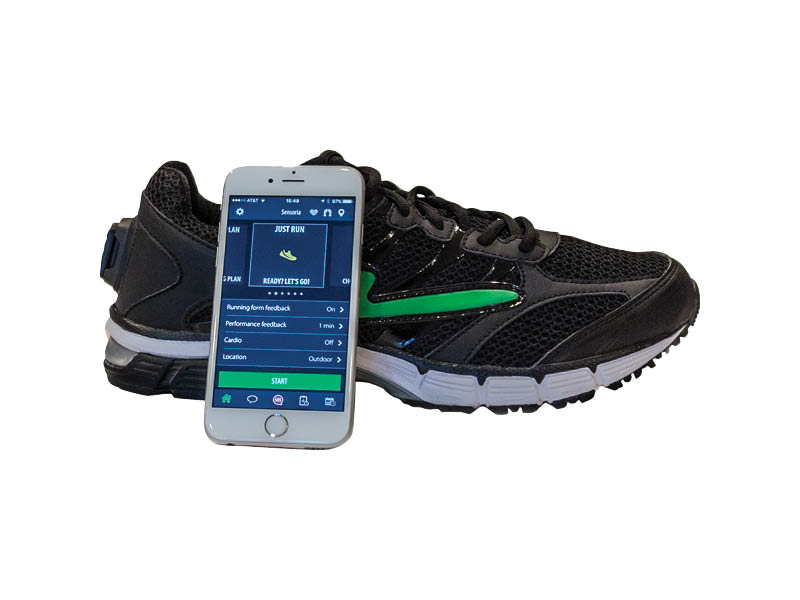 Sensoria Smart Running Shoe