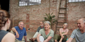 Older Adults Stick With Fitness Routines When They Work Out Together