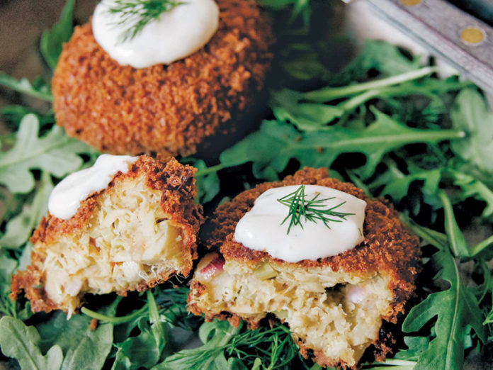 Crispy Crabless Cakes