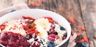 Protein Berry Smoothie Bowl