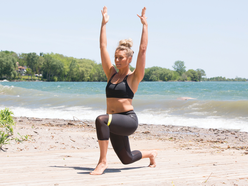 Athletic Lunge