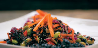 Superfood Black Rice Salad