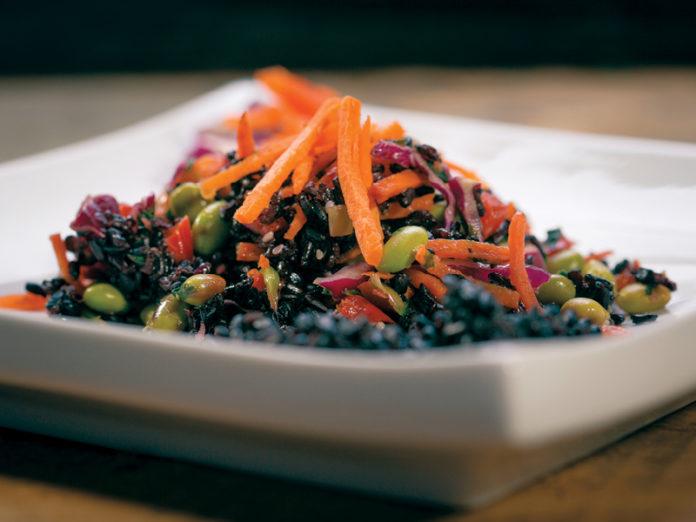 Superfood Black Rice Salad