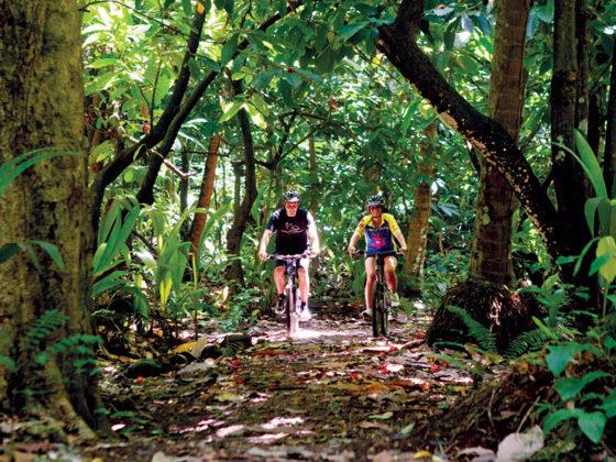 St. Lucia Biking
