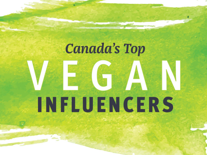 Canada's Top Vegan Influencers