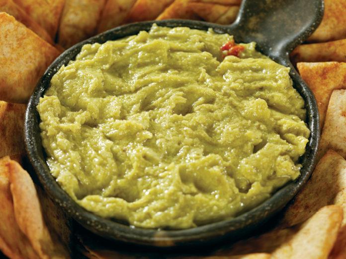 Lime and Sea Salt Avocado Hummus
