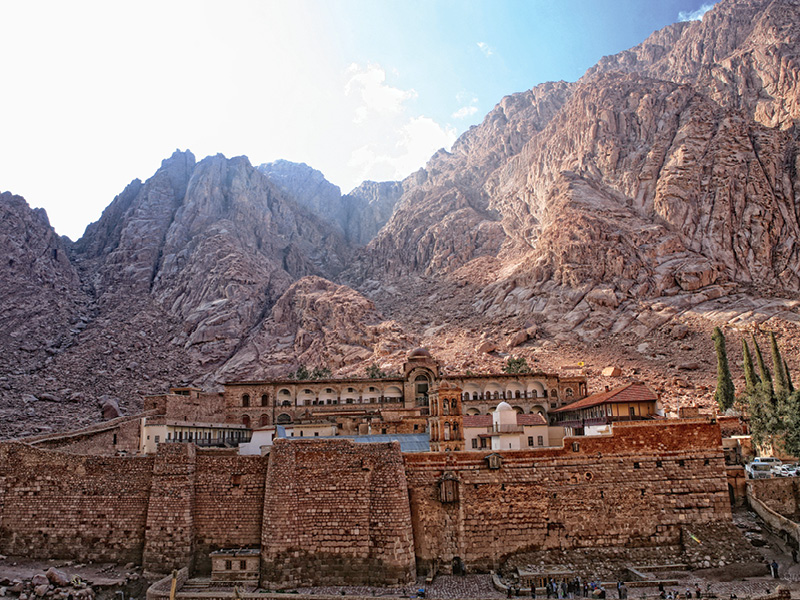 The Saint Catherine Monastery