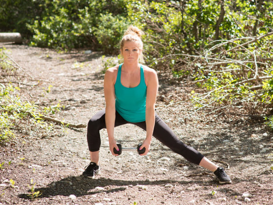 Side lunge and one-leg balance