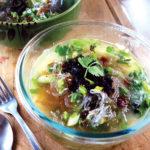 Tangy Ginger Kelp Noodle Soup
