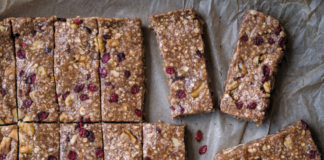 No Bake Cherry Almond Energy Bars