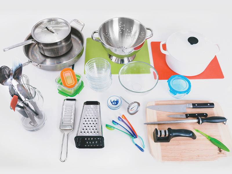 IMPACT Magazine's test kitchen tools
