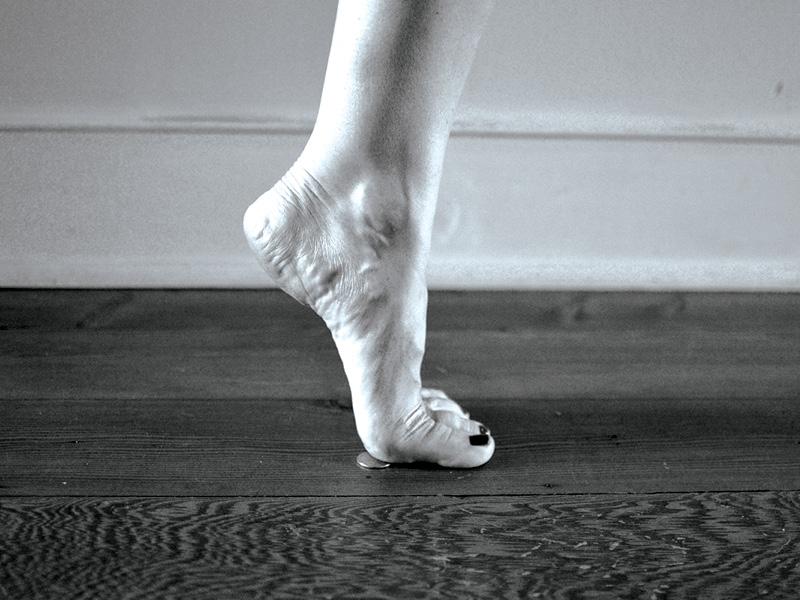 Quarter Heel Raises