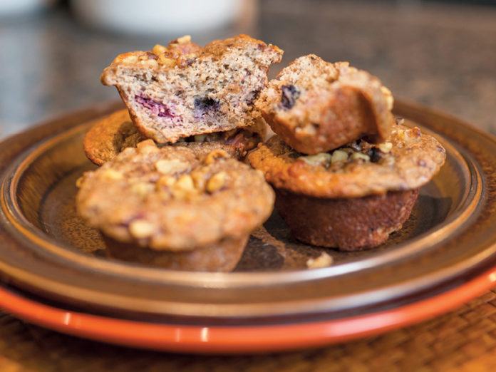 Berry Bomb Muffins