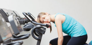 Sleeping On Exercise Bike