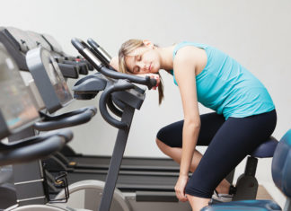 Sleeping On Exercise Bike