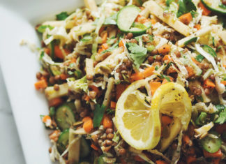 Lentil Apple Slaw