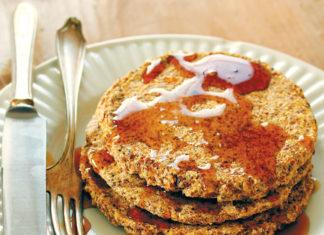 Lemon Poppy Seed Buckwheat Pancakes
