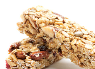 Almond Honey Breakfast Bars