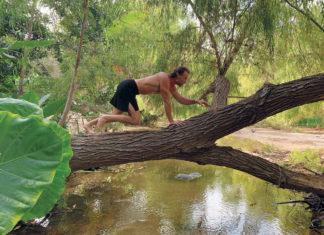 Erwan Le Corre Climbing