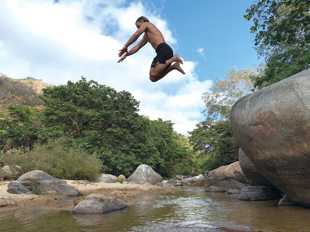 Erwan Le Corre Jumping