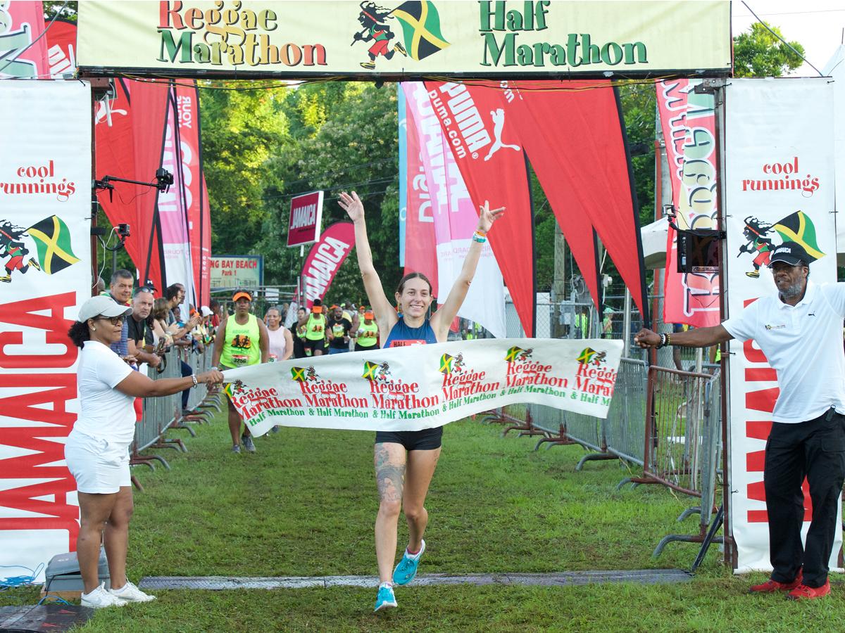 Reggae Marathon Winner