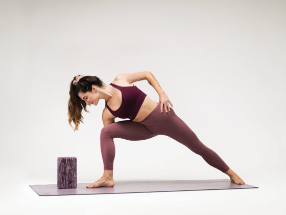 Half-Moon Bow Pose