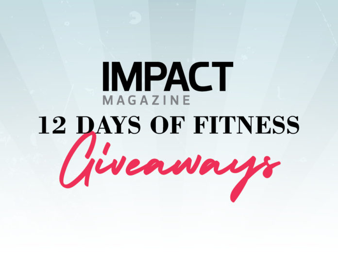 12 Days of Fitness Giveaways