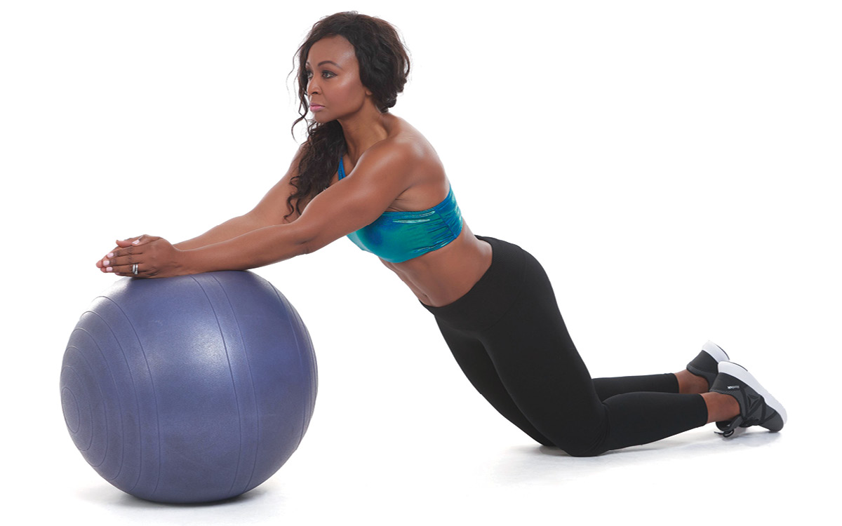 Stability Ball Ab Rollout