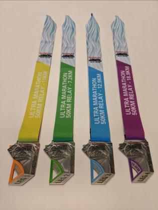 Scotiabank Calgary Marathon - Relay Medals
