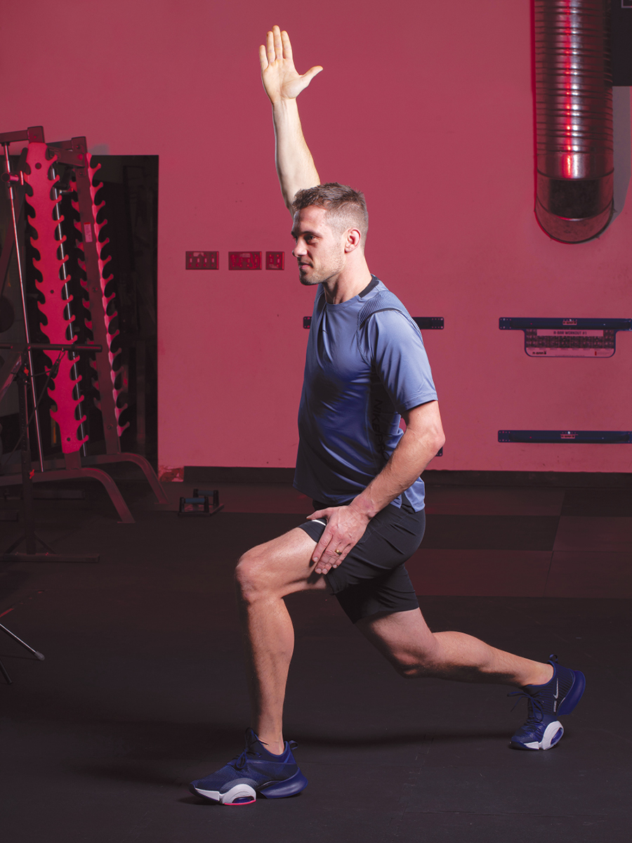 Hip Flexor Walking Lunge