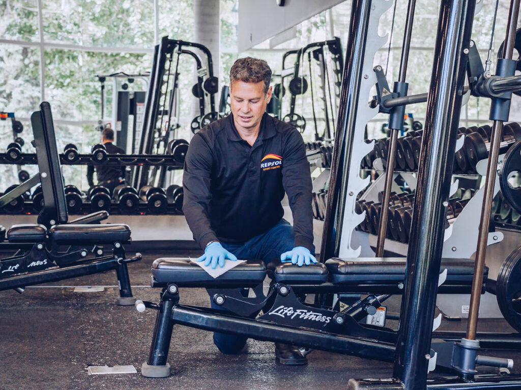 Jeff Booke / Repsol Sports Centre
