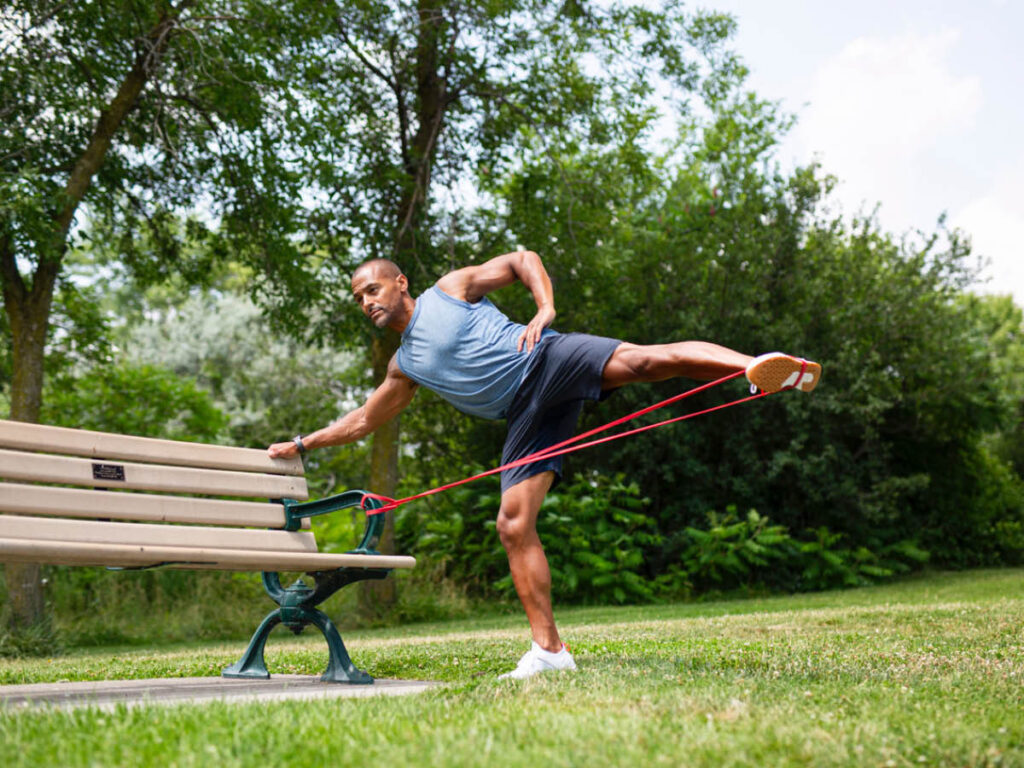 Brent Bishop Outdoor Workout