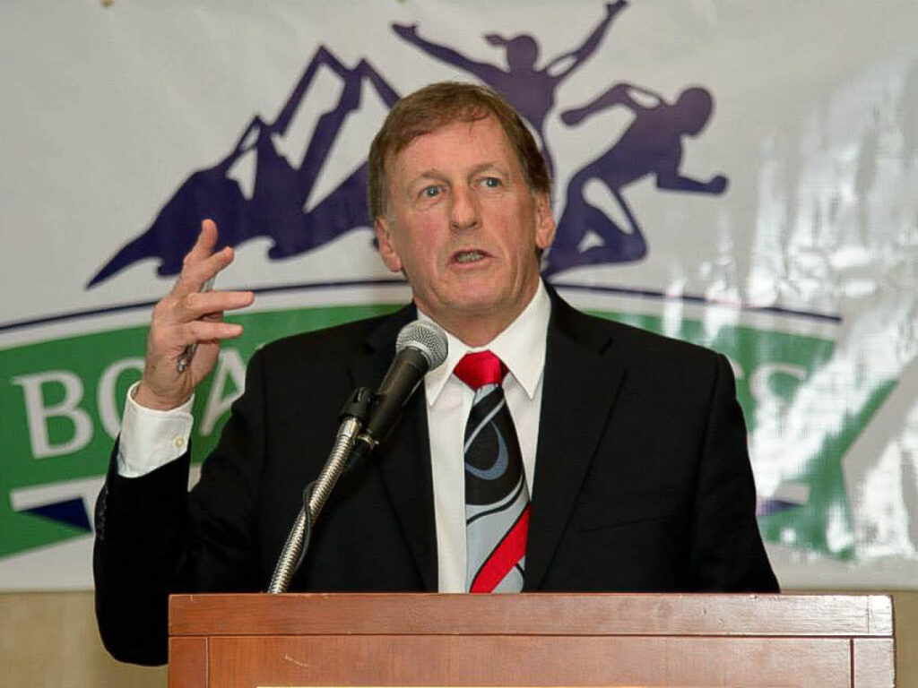 Brian McCalder, president and CEO of B.C. Athletics