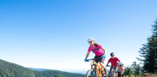 Cycling Grouse Mountain