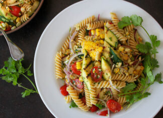 Grilled Corn and Jalapeno Salad