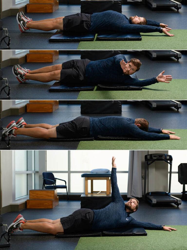 Upper Body Rolling Patterns