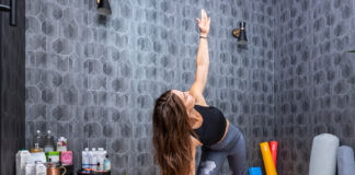 At-Home Yoga Studio
