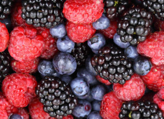 Assorted berries, which is part of nutrition for anxiety
