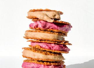 Eggnog Ice Cream Sandwiches