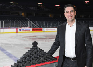 Flames Assistant General Manager Chris Snow